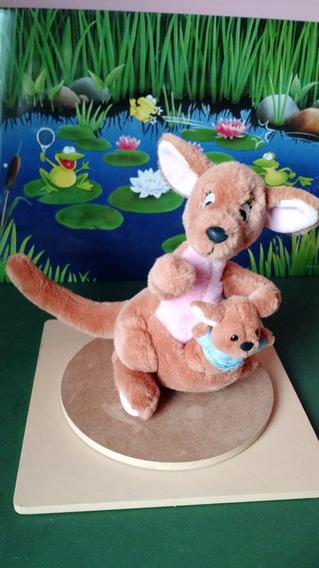Pelucia Canguru Ursinho Pooh Kanga Roo Canga Guru Disney 29c