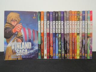 Coleção Mangá Vinland Saga Vol. 1 Ao 21 - Panini