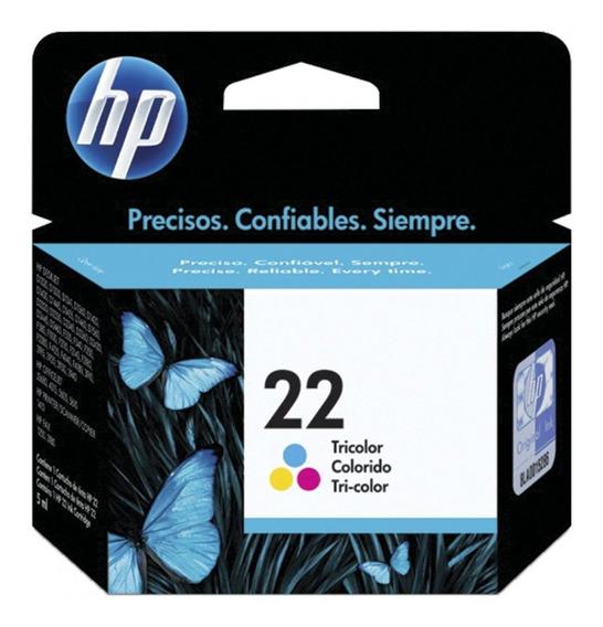 Cartucho De Tinta Hp 22 Colorido C9352ab