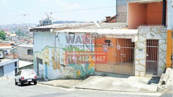 Casa Na V Silviania, Carapicuiba, 3 Quartos Com Garagem - 935