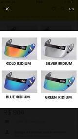 Viseira Arai Gp 6 - Gold Iridium