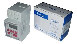 Temporizador Timer Digital Programable Llave Térmica Riel