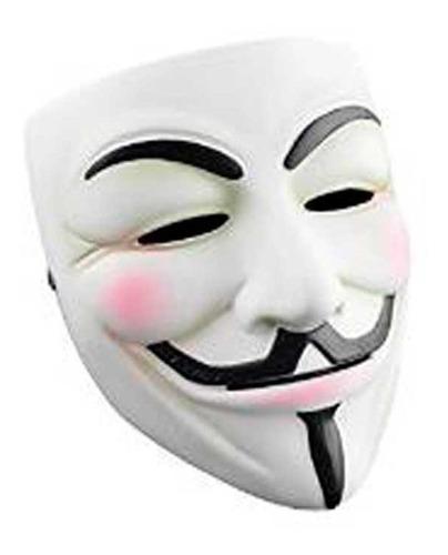 Mascara Anonymus V De Venganza Disfraz Vendetta Nicky Pvc