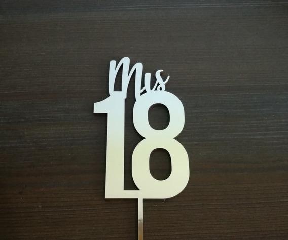 Cake Topper Mis 18