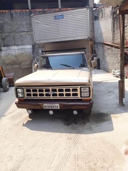 F 100 Baú 1985 Dir. Hidráulica Diesel