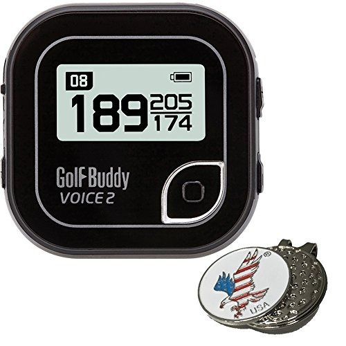 Bundle: 2017 Golfbuddy Golf Buddy Voice 2, Marcador De Bola