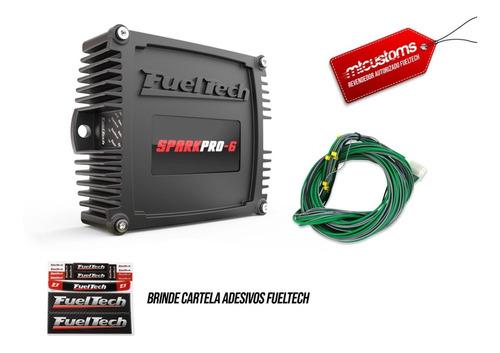 Fueltech Sparkpro-6 Com Chicote - 12x Sem Juros + Brindes!