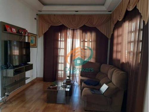 Casa À Venda, 125 M² Por R$ 641.000,00 - Jardim Pinhal - Guarulhos/sp - Ca0336