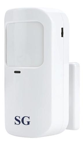 Imagen 1 de 10 de Sensor Movimiento Antimascotas Antifalsa Detector Pir Infrarrojo Inalambrico Sistema Seguridad Alarma Casa Negocio