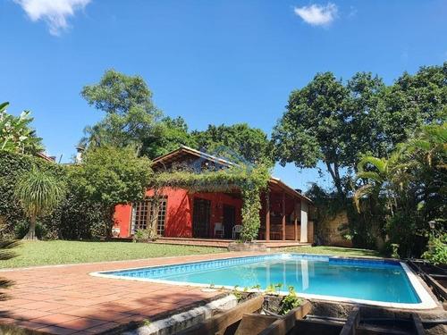 Imagem 1 de 26 de Chácara Com 3 Dormitórios Para Alugar, 2000 M² Por R$ 4.500,00/mês - Chácaras Ana Lúcia - Embu Das Artes/sp - Ch0040