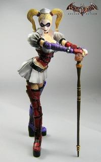Harley Quinn - Batman Arkham Asylum Original Play Arts Kai