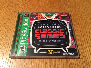 Classic Games For The Atari 2600 Ps1 Playstation 1 Ps2 Ps3
