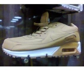 Tenis Nike Air Max 90 Marrom E Branco Nº38 Ao 43 Original