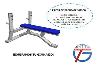 Press De Pecho Olimpico