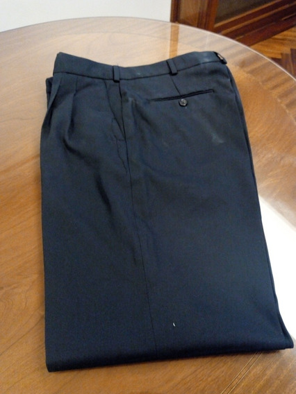 Pantalón De Vestir Azul Oscuro Talle 44