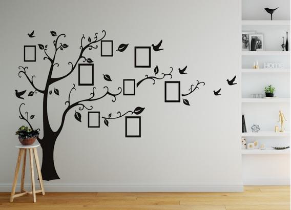 Adesivo Decorativo Parede Árvore Genealógica 2,00 X 2,50cm