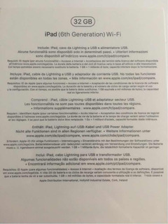 Apple iPad Wifi 9,7 - 2018 - Garantía - 32gb - Sellada A10