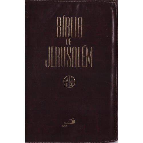Bíblia De Jerusalém Com Zíper