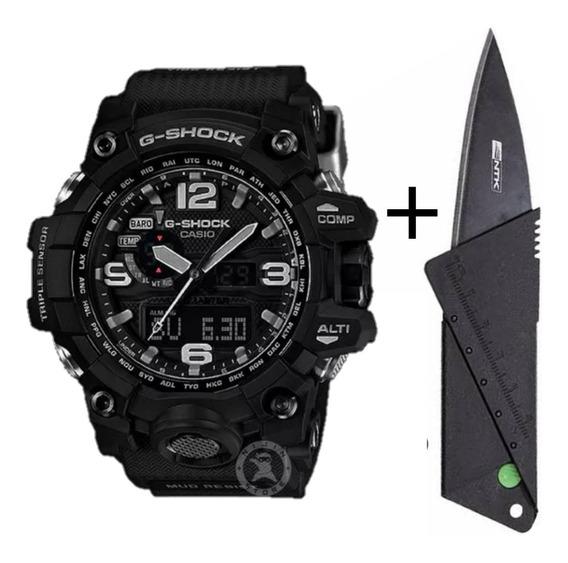 Relógio Masculino Gs Preto Digital- Promoção + Brinde