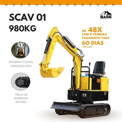 Mini Escavadeira 980kg