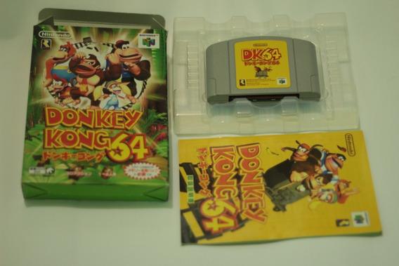 Jogo Donkey Kong Original Japones Nintendo 64 N64