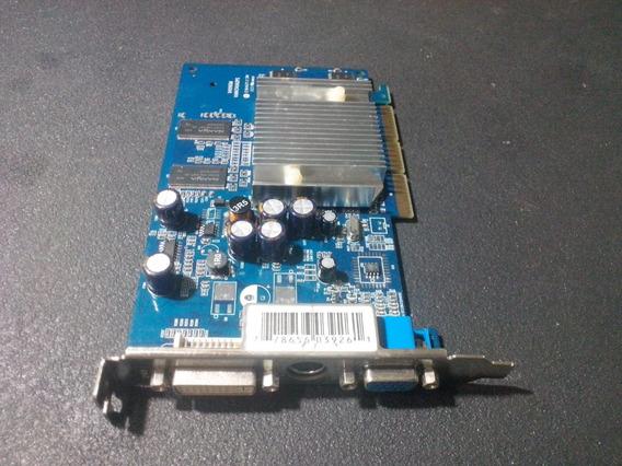 Placa Video Agp Nvidia Gf Fx5200 256mb 128bits