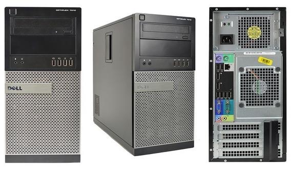 Cpu Optiplex Torre 7010 Core I3 3ª Geração 4gb Ddr3 Hd 500gb