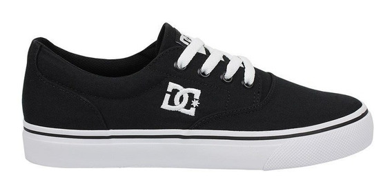 Tênis Dc Shoes New Flash 2 Tx Black White