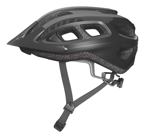 Casco Bicicleta Scott Supra Negro Talla Ajustable // Bamo