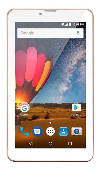 Tablet Multilaser M7 3g 8gb Plus Golden Rose Nb271 Outlet
