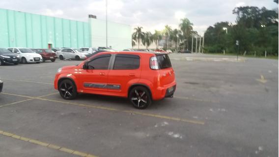 Fiat Uno Sport 2015 Top Rodas 17 R$33.000 Estudo Troca