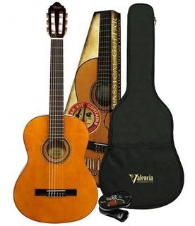Guitarra Clasica Criolla Estudio Valencia Vc104k