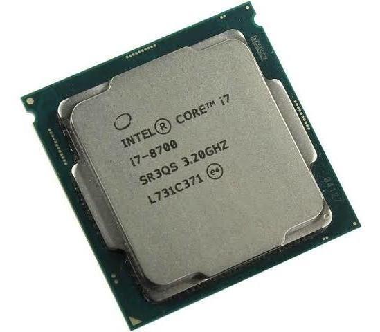 Processador I7 8700 Na Caixa Com Uns 10 Meses De Garantia