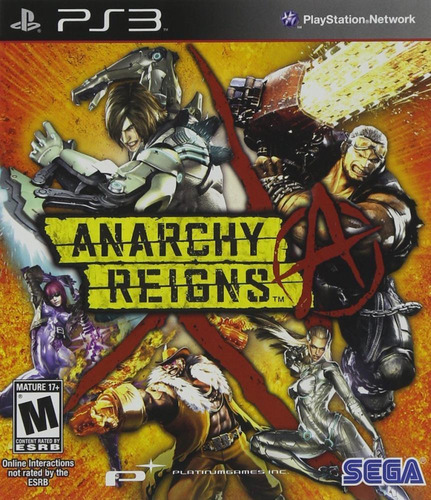 Anarchy Reigns Playstation 3 Fisico