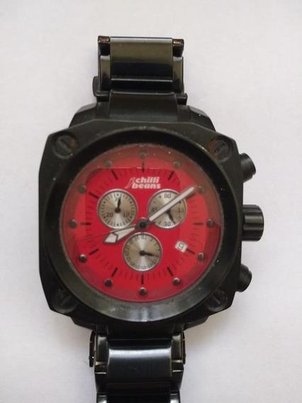 Relógio Chilli Beans Masculino Quadrado Re.aa.0159