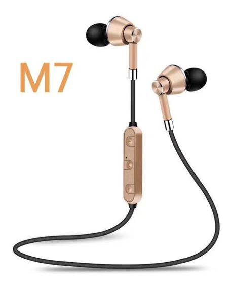 Golden M7 Sportless Bluetooth Headset Fone De Ouvido 4.1 Hea