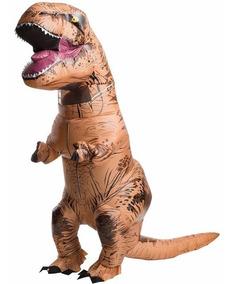 Fantasia Inflável Dinossauro Tiranossauro T Rex - No Brasil