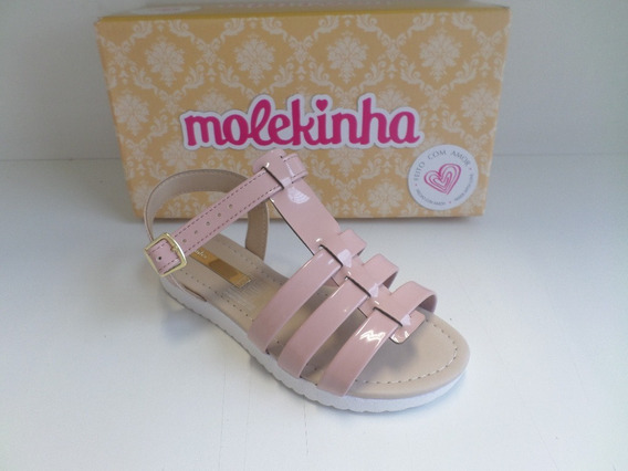 Sandália Infantil Feminina Molekinha Ref-2150.205