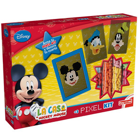 Conjunto De Artes - Disney Pixel Kit - Mickey Mouse - Disney