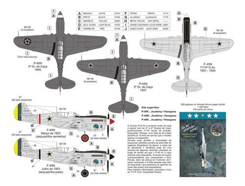 Imagem 1 de 2 de Decal P-40 (part 2) 1:72 Fcm Decals Fcm72023