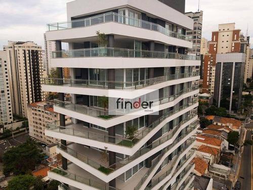 Mn15 Ibirapuera   Apartamentos Na Rua Manuel Da Nóbrega, 812. Apartamento À Venda 338 M²,  Varanda Gourmet, 4 Suítes, 5 Vagas E Lazer Completo. - Ap13240