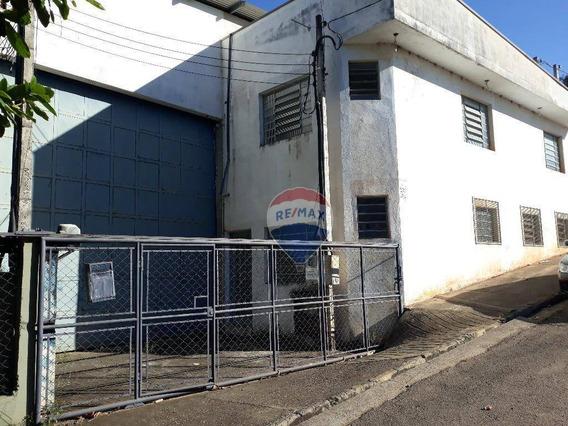 Galpão Para Alugar, 584 M² Por R$ 6.000,00/mês - Vila Industrial - Bom Jesus Dos Perdões/sp - Ga0201