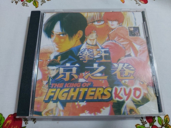 The King Of Fighters Kyo Playstation Ps1 Patch Prensado