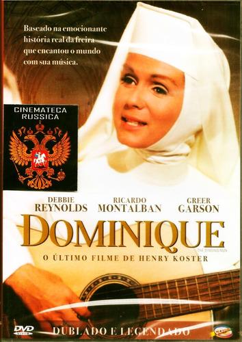 Dvd Dominique Com Debbie Reynolds Ricardo Montalban  1966 +