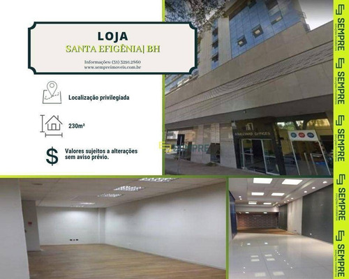 Imagem 1 de 25 de Loja Para Alugar, 230 M² - Santa Efigênia - Belo Horizonte/mg - Lo0021