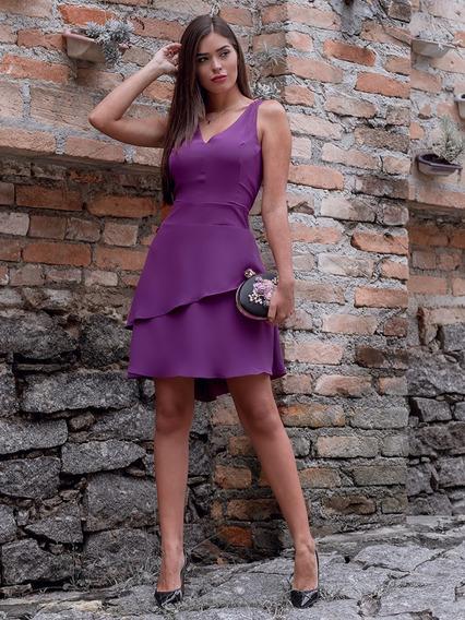 Vestido Feminino Regata Violeta Roupas Feminina