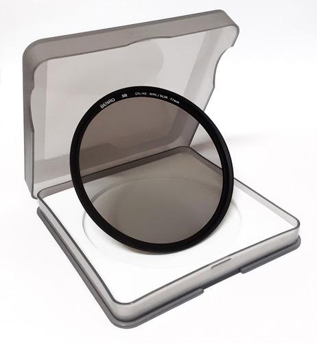 Filtro Benro Polarizador Circular Sd Cpl-hd Wmc Slim 77mm