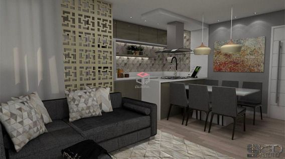 Lindo Apartamento Novo Á Venda - 3 Quartos - 2 Vagas - Vila Pires - Santo André - 73881