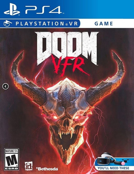 Doom Vfr - Ps4 Vr - Midia Fisica