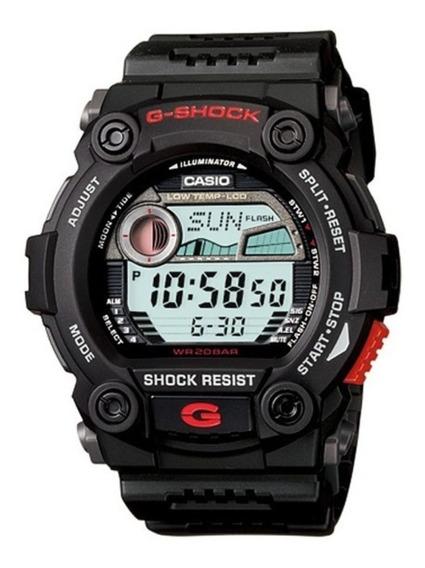 Relogio Casio G-shock G-7900-1dr Fases Lua Preto G7900